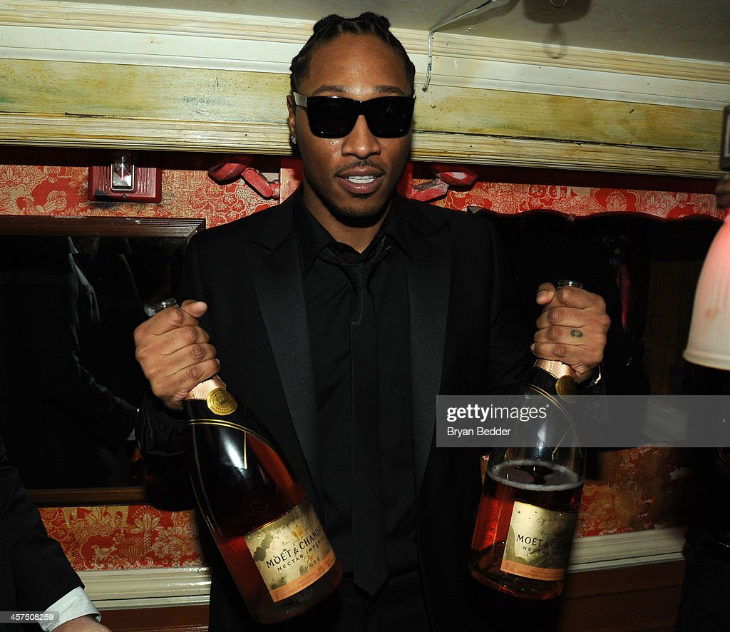 Recording artist Future attends the Moet Rose Lounge at The Box on December 17, 2013 in New York City.