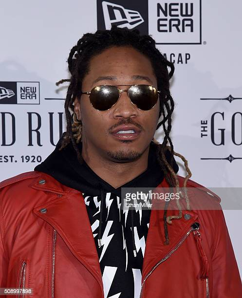 Recording artist Future attends the New Era Super Bowl party at The Battery on February 6 2016 in San Francisco California
