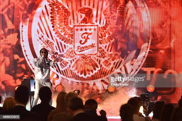 Recording artist Future performs at VH1's 5th Annual Streamy Awards at the Hollywood Palladium on Thursday September 17 2015 in Los Angeles California