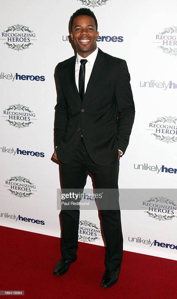 Recording artist Gabe Roland attends 'Unlikely Heroes' Recognizing Heroes Awards Dinner and Gala at The Living Room at The W Hotel on October 19, 2013 in Los Angeles, California.