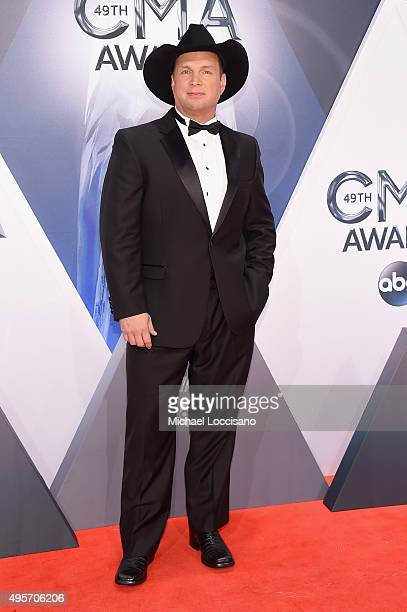 Recording artist Garth Brooks attends the 49th annual CMA Awards at the Bridgestone Arena on November 4 2015 in Nashville Tennessee