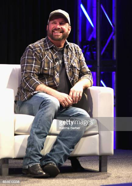 Recording artist Garth Brooks speaks onstage at 'A Conversation With Garth Brooks and Steve Boom' during 2017 SXSW Conference and Festivals on March...