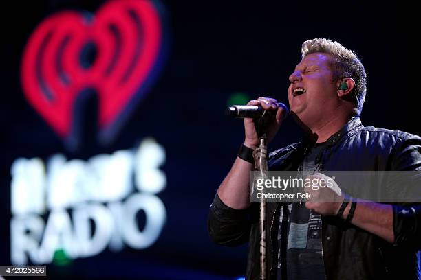 Recording artist Gary LeVox of Rascal Flatts performs onstage during the 2015 iHeartRadio Country Festival at The Frank Erwin Center on May 2 2015 in...