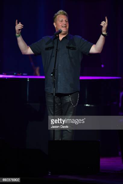Recording Artist Gary LeVox performs onstage during Sam's Place Music For The Spirit at Ryman Auditorium on June 4 2017 in Nashville Tennessee