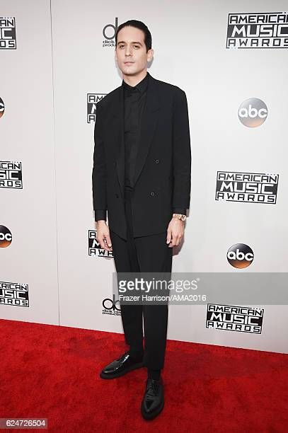 Recording artist GEazy attends the 2016 American Music Awards at Microsoft Theater on November 20 2016 in Los Angeles California