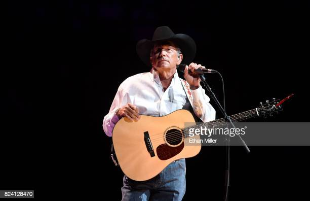 Recording artist George Strait mixes up his Two Nights of Number Ones performing all 60 No 1's as part of his Strait to Vegas Exclusive Worldwide...