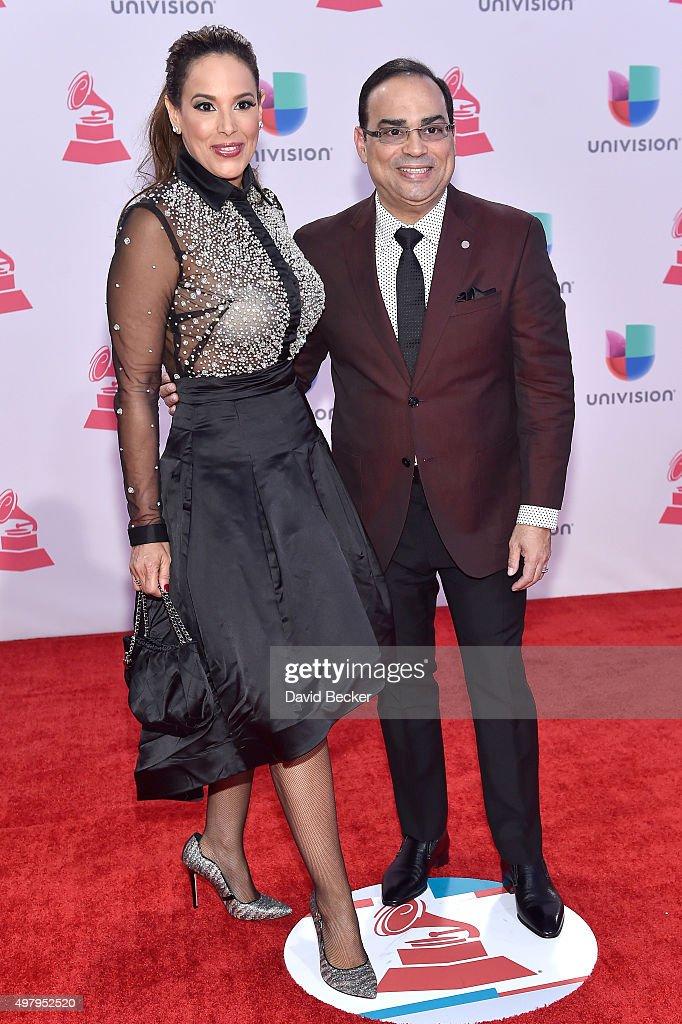 Recording artist Gilberto Santa Rosa attends the 16th Latin GRAMMY Awards at the MGM Grand Garden Arena on November 19 2015 in Las Vegas Nevada