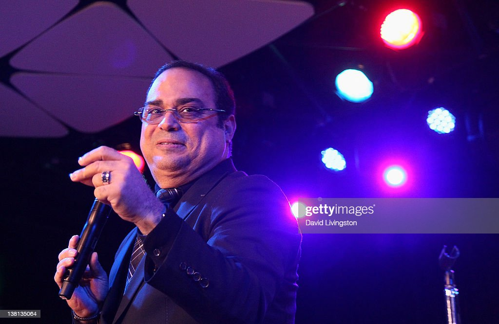 Recording artist Gilberto Santa Rosa performs on stage at The Conga Room at LA Live on February 2 2012 in Los Angeles California