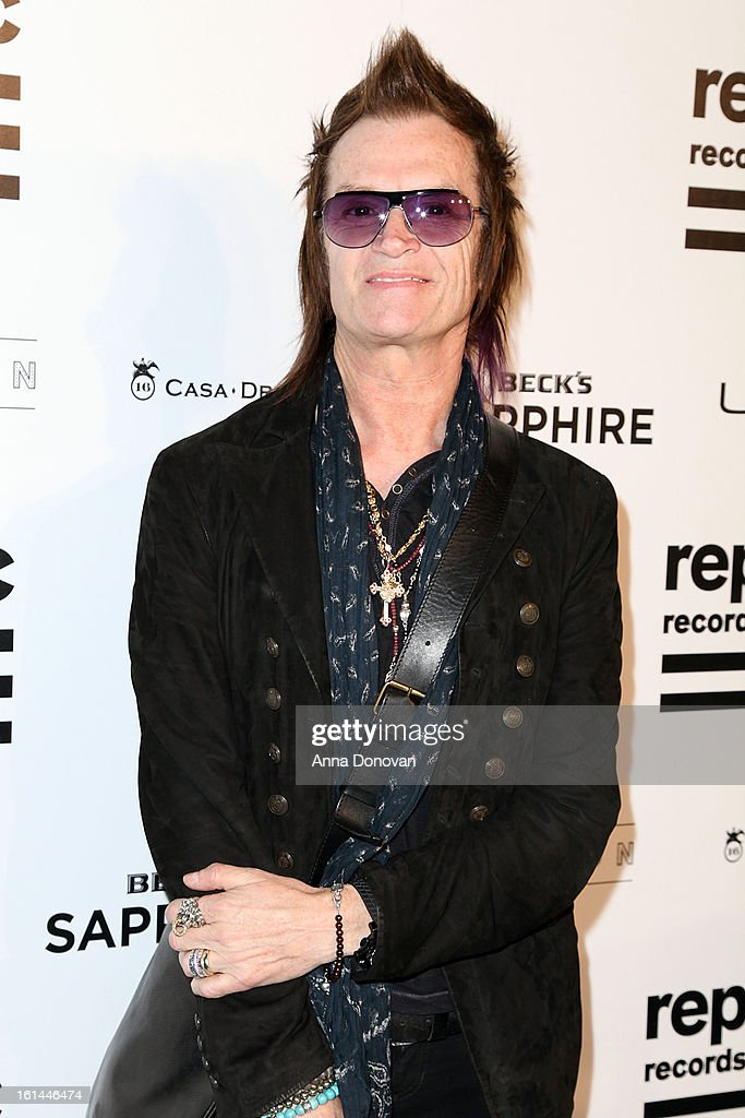 Recording artist Glenn Hughes arrives to the Republic Records post GRAMMY party at the Emerson Theatre on February 10, 2013 in Hollywood, California.