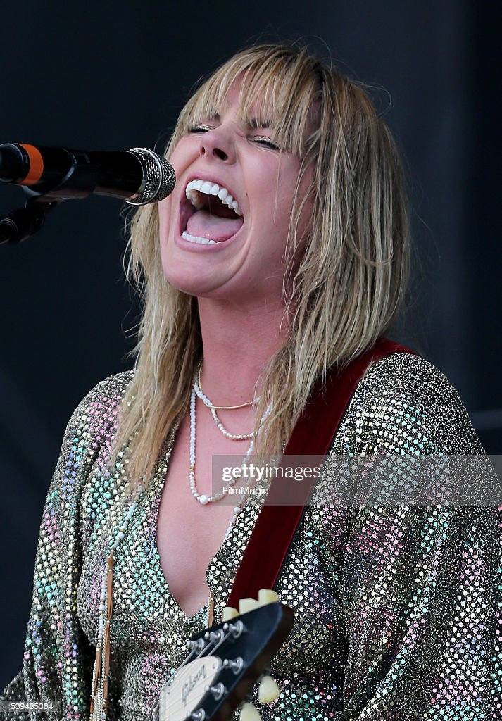 Recording artist Grace Potter performs onstage at What Stage during Day 3 of the 2016 Bonnaroo Arts And Music Festival on June 11 2016 in Manchester...