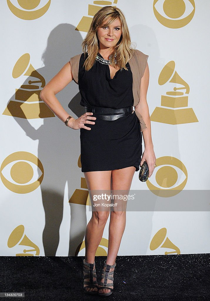 Recording Artist Grace Potter poses at The GRAMMY Nominations Concert Live Countdown To Music's Biggest Night at Nokia Theatre LA Live on November 30...