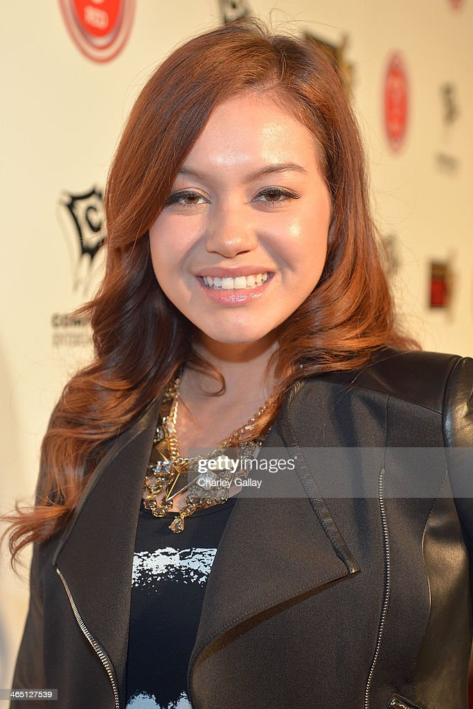 Recording artist Guinevere attends the annual Midnight Grammy Brunch hosted by Ne-Yo and Malibu Red at Lure Nightclub on January 26, 2014 in Hollywood, California.
