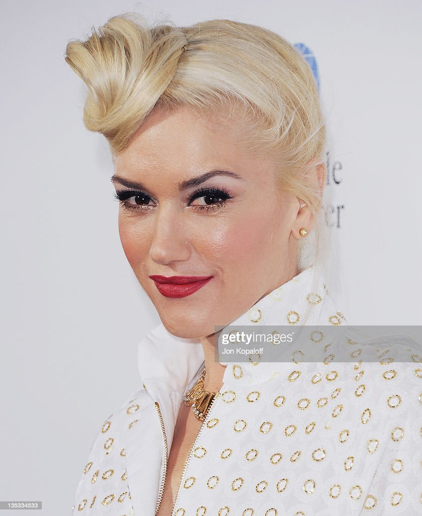 Recording artist Gwen Stefani arrives at 'In The Land Of Blood And Honey' Los Angeles Premiere on December 8 2011 in Hollywood United States