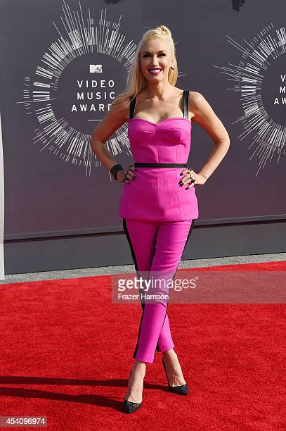 Recording artist Gwen Stefani attends the 2014 MTV Video Music Awards at The Forum on August 24 2014 in Inglewood California