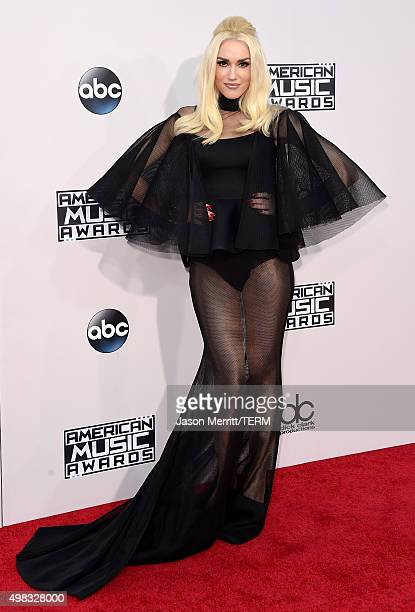 Recording artist Gwen Stefani attends the 2015 American Music Awards at Microsoft Theater on November 22 2015 in Los Angeles California