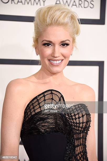 Recording artist Gwen Stefani attends The 57th Annual GRAMMY Awards at the STAPLES Center on February 8 2015 in Los Angeles California