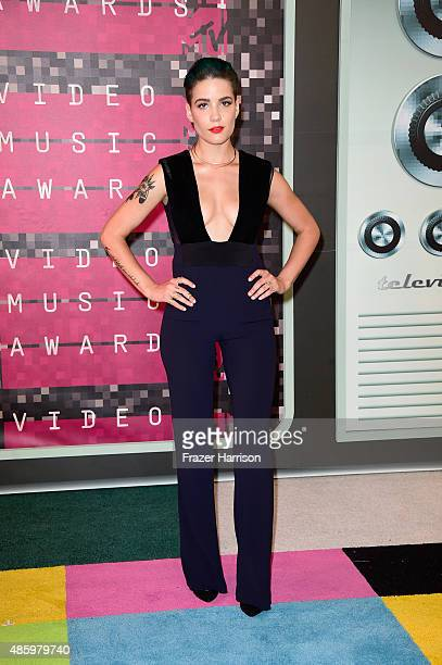 Recording artist Halsey attends the 2015 MTV Video Music Awards at Microsoft Theater on August 30 2015 in Los Angeles California