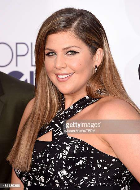 Recording artist Hillary Scott of music group Lady Antebellum attends The 41st Annual People's Choice Awards at Nokia Theatre LA Live on January 7...