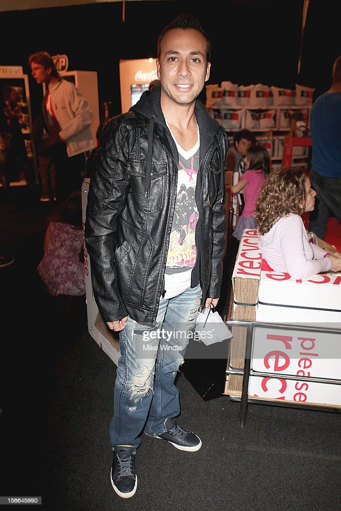Recording artist <a gi-track='captionPersonalityLinkClicked' href=/galleries/search?phrase=Howie+Dorough&family=editorial&specificpeople=204770 ng-click='$event.stopPropagation()'>Howie Dorough</a> attends The 40th American Music Awards - EKOCYCLE Gift Suite Day 2 at Nokia Theatre L.A. Live on November 17, 2012 in Los Angeles, California.