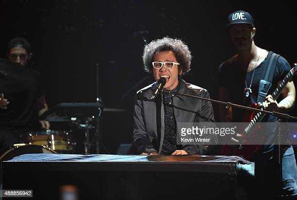 Recording artist Ian Axel of Great Big World performs at VH1's 5th Annual Streamy Awards at the Hollywood Palladium on Thursday September 17 2015 in...