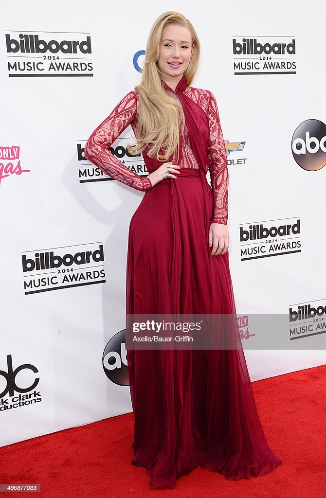 Recording artist Iggy Azalea arrives at the 2014 Billboard Music Awards at the MGM Grand Garden Arena on May 18 2014 in Las Vegas Nevada