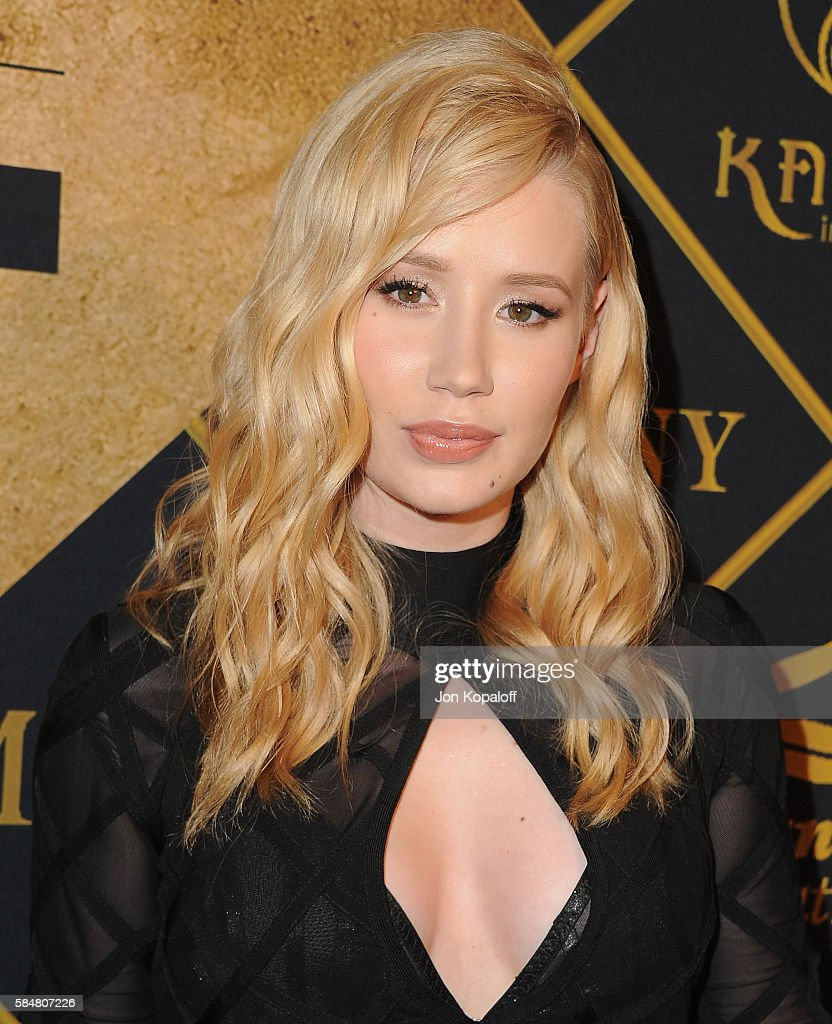 Recording artist Iggy Azalea arrives at the Maxim Hot 100 Party at the Hollywood Palladium on July 30, 2016 in Los Angeles, California.