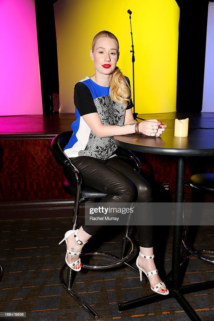 Recording artist Iggy Azalea attends the NARM 2013 meet and greet during the 2013 Music Biz Awards at the Hyatt Regency Century Plaza on May 9, 2013 in Los Angeles, California.