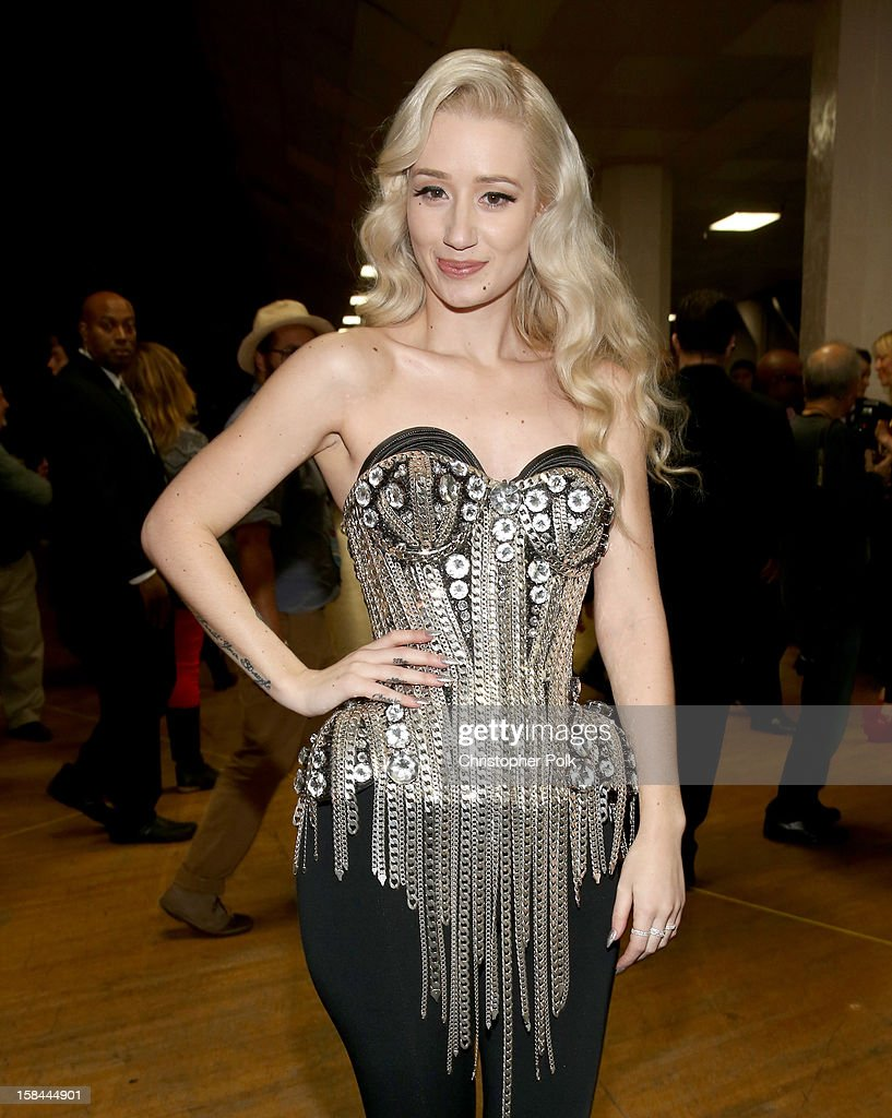 Recording artist Iggy Azalea attends 'VH1 Divas' 2012 at The Shrine Auditorium on December 16, 2012 in Los Angeles, California.