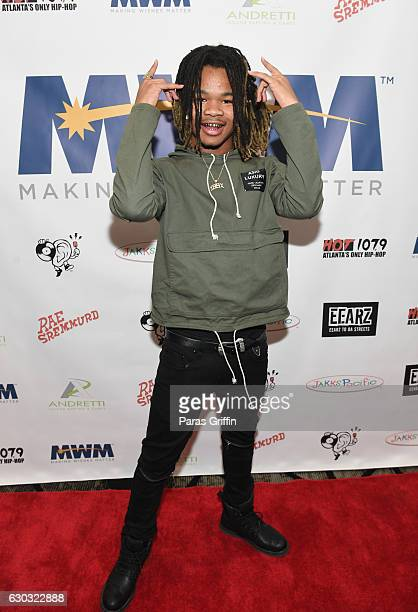 Recording artist Impxct attends the 2016 Wish Fest at Andretti on December 20 2016 in Marietta Georgia