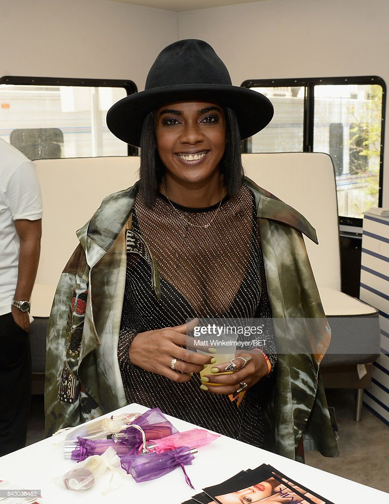 Recording artist Ingrid attends the BETX gifting suite during the 2016 BET Experience on June 25, 2016 in Los Angeles, California.