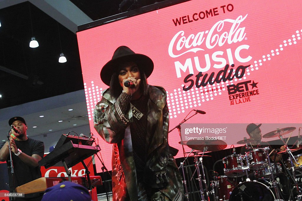 Recording artist Ingrid performs onstage at the Coke music studio during the 2016 BET Experience on June 25, 2016 in Los Angeles, California.