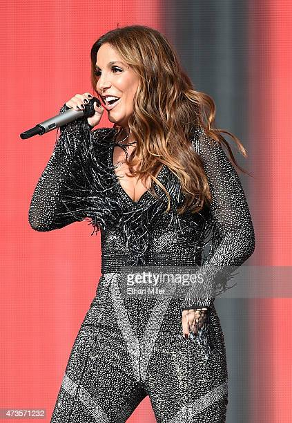 Recording artist Ivete Sangalo performs during Rock in Rio USA at the MGM Resorts Festival Grounds on May 15 2015 in Las Vegas Nevada