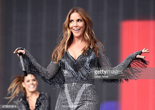 Recording artist Ivete Sangalo performs onstage during Rock in Rio USA at the MGM Resorts Festival Grounds on May 15 2015 in Las Vegas Nevada