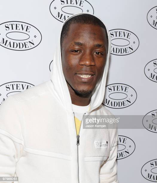 Recording artist Iyaz attends the Steven by Steve Madden event on March 23 2010 in New York City