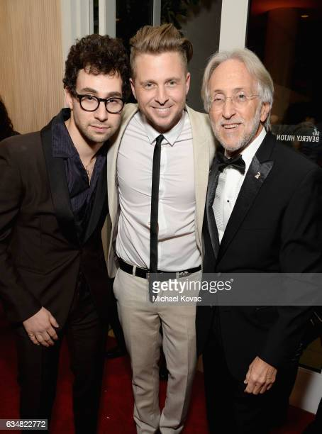 Recording artist Jack Antonoff recording artist Ryan Tedder of music group OneRepublic and President/CEO of The Recording Academy and GRAMMY...