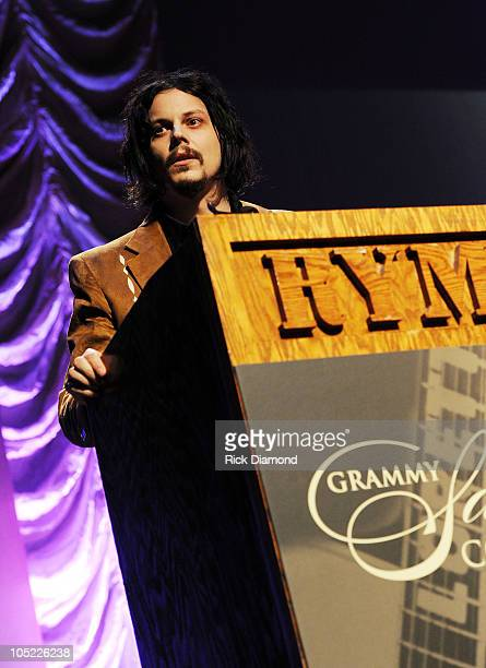Recording Artist Jack White honors Loretta Lynn during the GRAMMY Salute to Country Music Honoring Loretta Lynn presented by Mastercard and hosted by...