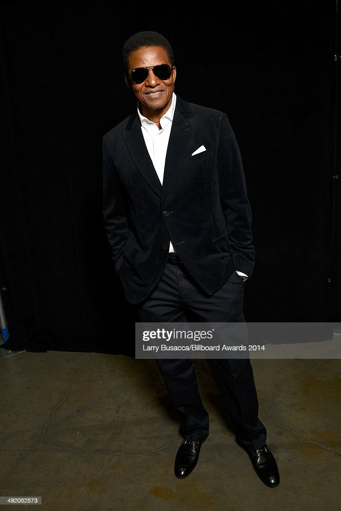 Recording artist <a gi-track='captionPersonalityLinkClicked' href=/galleries/search?phrase=Jackie+Jackson&family=editorial&specificpeople=212794 ng-click='$event.stopPropagation()'>Jackie Jackson</a> attends the 2014 Billboard Music Awards at the MGM Grand Garden Arena on May 18, 2014 in Las Vegas, Nevada.