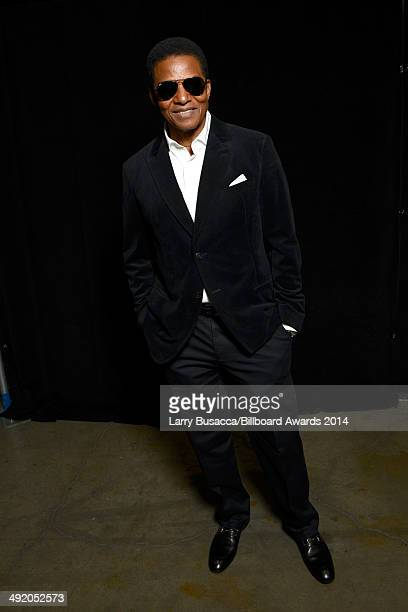 Recording artist Jackie Jackson attends the 2014 Billboard Music Awards at the MGM Grand Garden Arena on May 18 2014 in Las Vegas Nevada