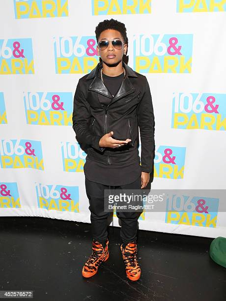 Recording artist Jacob Latimore visits 106 Park at BET studio on July 22 2014 in New York City