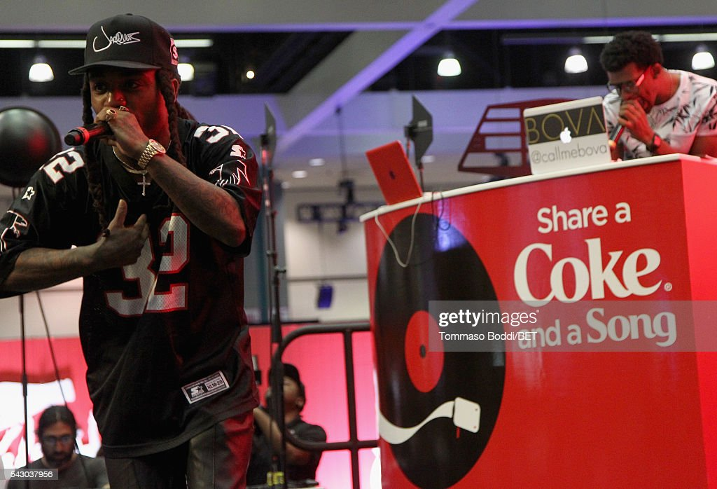 Recording artist Jacquees performs onstage at the Coke music studio during the 2016 BET Experience on June 25, 2016 in Los Angeles, California.