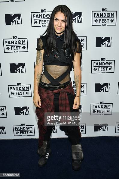 Recording artist Jahan Yousaf of musical group Krewella attends the MTV Fandom Awards San Diego at PETCO Park on July 21 2016 in San Diego California