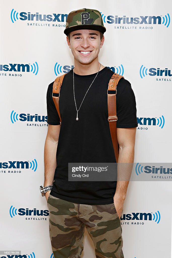 Recording artist Jake Miller visits the SiriusXM Studios on March 6, 2013 in New York City.