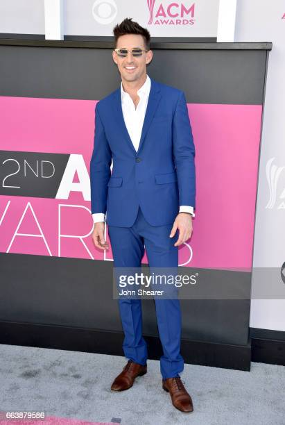 Recording artist Jake Owen attends the 52nd Academy Of Country Music Awards at Toshiba Plaza on April 2 2017 in Las Vegas Nevada