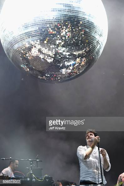 Recording artist James Murphy of LCD Soundsystem performs onstage at What Stage during Day 2 of the 2016 Bonnaroo Arts And Music Festival on June 9...
