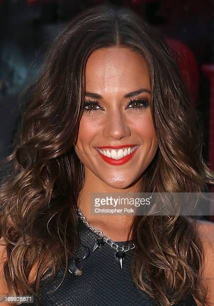Recording artist Jana Kramer poses for a photo during Rodney Atkins' 3rd annual Music City Gives Back on June 4 2013 in Nashville Tennessee