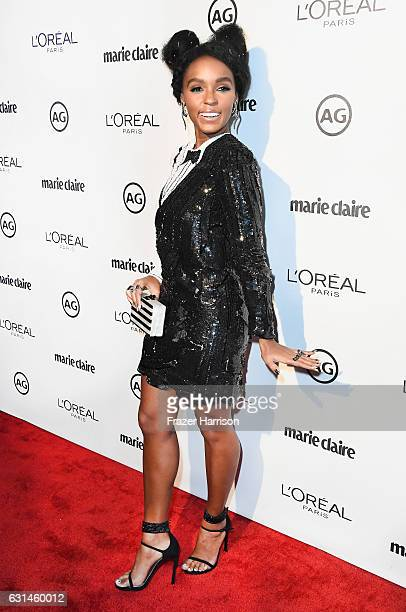 Recording Artist Janelle Monae attends Marie Claire's Image Maker Awards 2017 at Catch LA on January 10 2017 in West Hollywood California