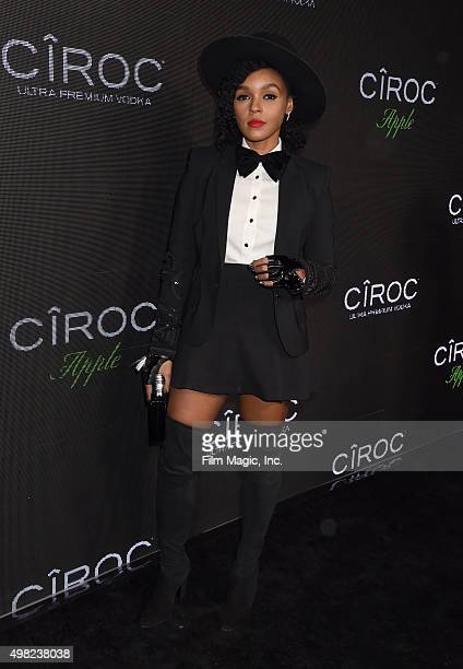 Recording artist Janelle Monae attends Sean 'Diddy' Combs Exclusive Birthday Celebration Presented By CIROC Vodka on November 22 2015 in Beverly...