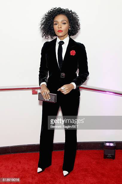 Recording artist Janelle Monáe attends the BET Honors 2016 at Warner Theatre on March 5 2016 in Washington DC