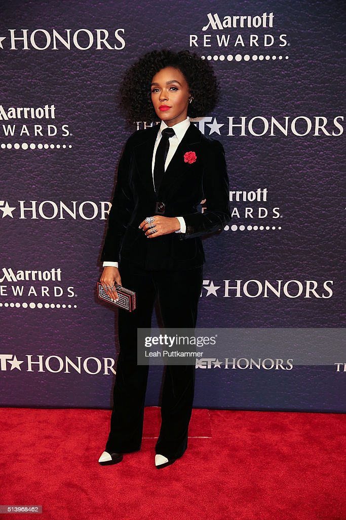 Recording artist Janelle Monea attends the BET Honors 2016 at Warner Theatre on March 5 2016 in Washington DC