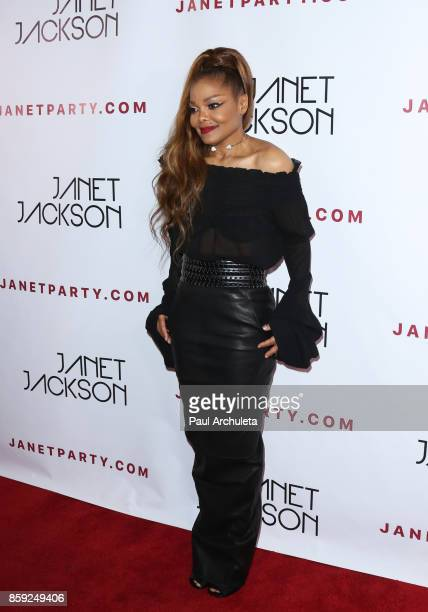 Recording Artist Janet Jackson attends her State Of The World Tour after party at Lure Nightclub on October 8 2017 in Los Angeles California